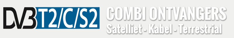 Combinatie DVBs/C/T