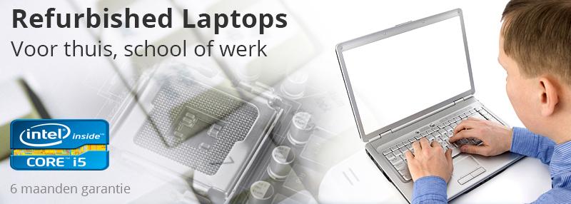 Gebruikte laptops thuis