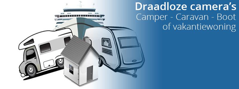 Camper Caravan en Boot