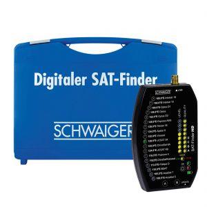 Schwaiger - SF9002 - HD SatFinder in koffer
