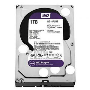 Western Digital Purple HDD 1000GB (1TB) SATA III
