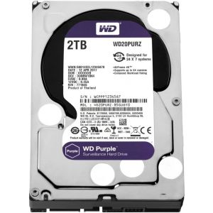 Western Digital Purple HDD 2000GB (2TB) SATA III