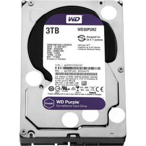 Western Digital Purple HDD 3000GB (3TB) SATA III