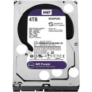 Western Digital Purple HDD 4000GB (4TB) SATA III