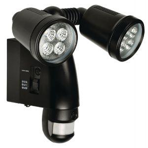 Buitenlamp met camera en bewegingssensor