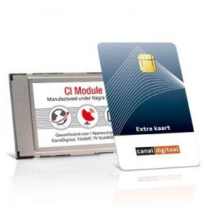 Canal Digitaal CI module met extra smartcard