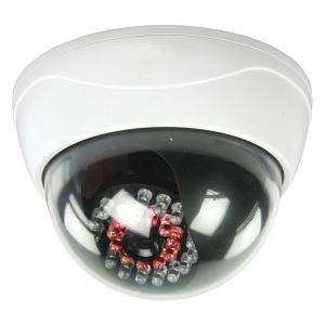 Dummy Dome camera + LEDS