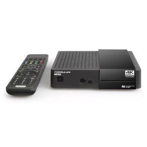 Formuler S Mini 4K UHD DVB-S2 + IPTV OTT Media receiver,SC