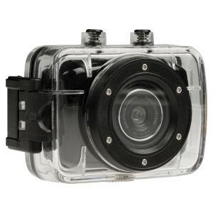 "HD Actioncam 720p met 2""-touchscreen"