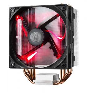 Cooler Master Hyper 212 LED Rood Processor Koeler 12 cm Zwart