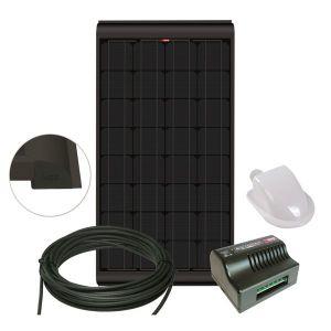 NDS KPB160WP Zonnepaneel Black 160W SET + Suncontrol MPPT