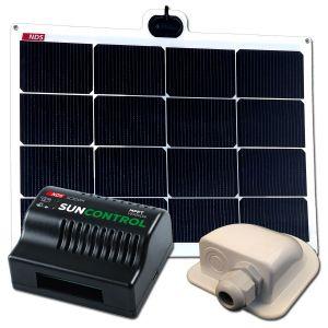 NDS SOLARFLEX EVO 50W Flex Zonnepaneel Set + SC300M KPE50WP