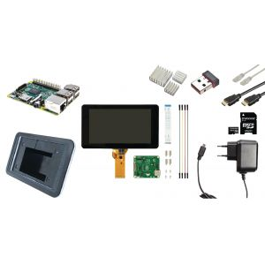 Raspberry Pi 3 LCD starter kit + WiFi + Software