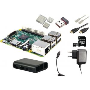 Raspberry Pi 3 starter kit + WiFi + NOOBS