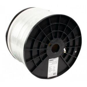 Coax kabel RG6 TWIN per meter