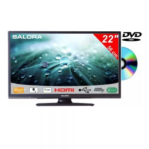 Salora 22 Inch LED 9109 DVB C/T2/S2 + DVD