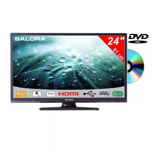 Salora 24 Inch LED 9109 DVB C/T2/S2 + DVD