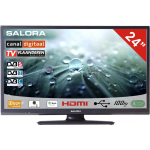 Salora 24 Inch LED 9109 DVB C/T2/S2