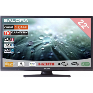 Salora 22 Inch LED 9109 DVB C/T2/S2