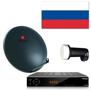Complete satelliet SET voor de ontvangst van Russische zenders