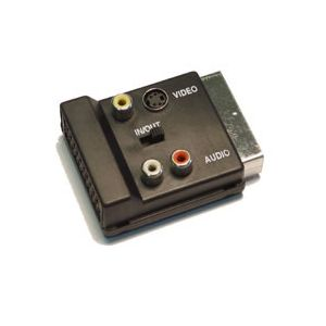 Scart breakout adapter audio/video