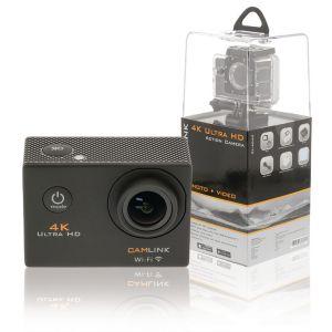 4K Ultra HD Action Cam Wi-Fi Zwart