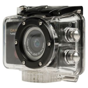 Full HD Action Cam 1080p Wi-Fi Zwart