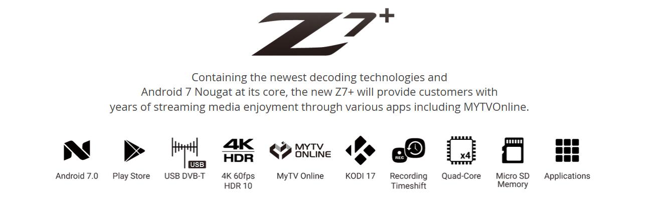 Formuler Z7+
