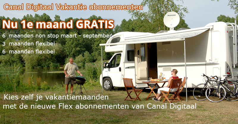 Canal Digitaal vakantie abonnementen