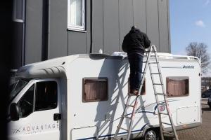Schotel montage camper