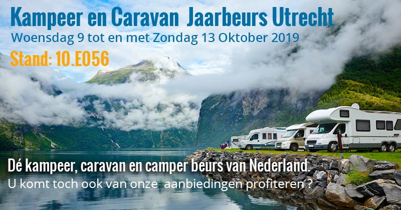 Kampeer en Caravan Jaarbeurs 2019