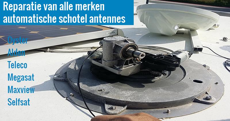 Reparatie automatische schotel antenne