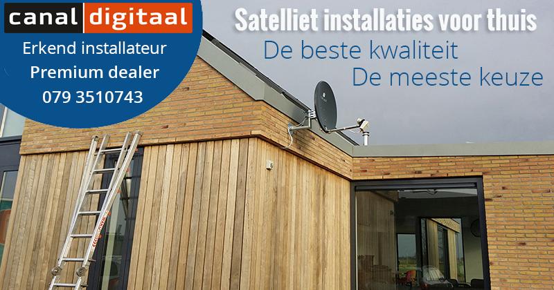 Satelliet installatie service