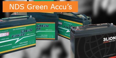 NDS Green accu's