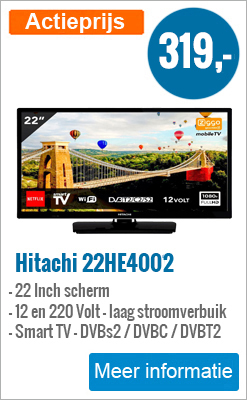 Hitachi 22 inch Smart TV