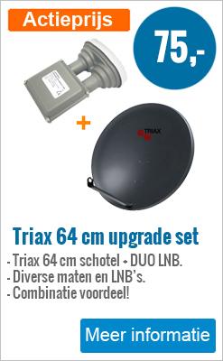 Triax 64 cm duo lnb